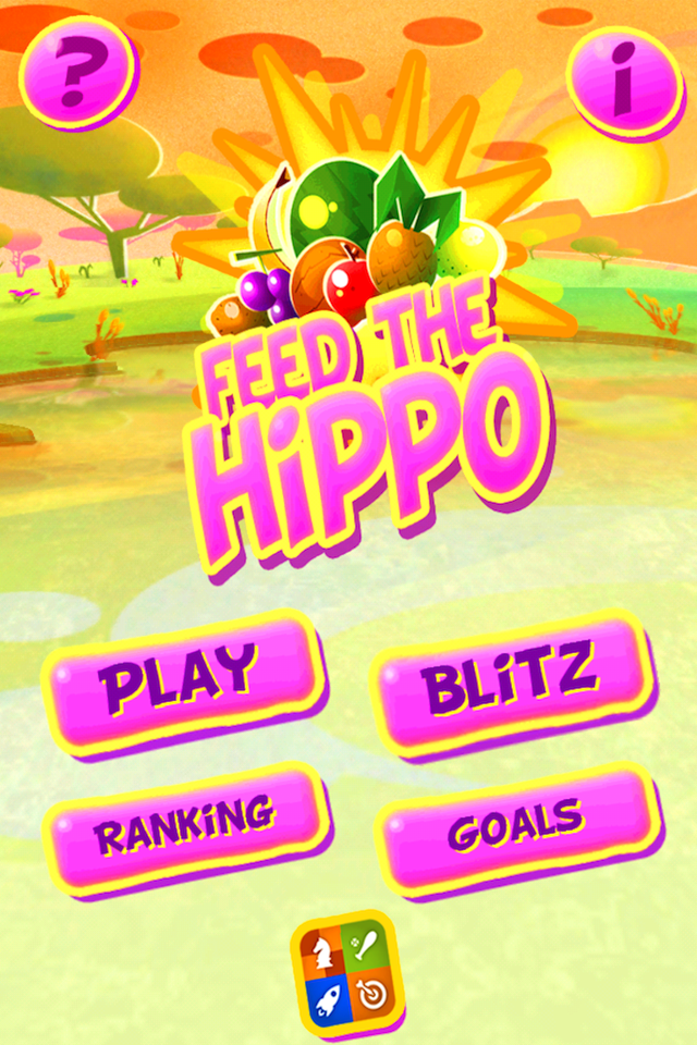 Screenshot Feed The Hippo Lite